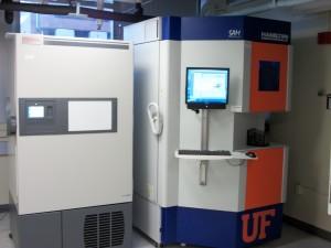 CTSI Biorepository freezer system