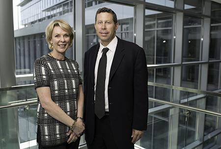 Dr. Elizabeth Shenkman and Dr. David Nelson